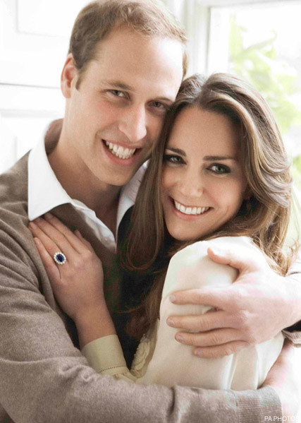 Prince William, Kate Middleton engagement picture